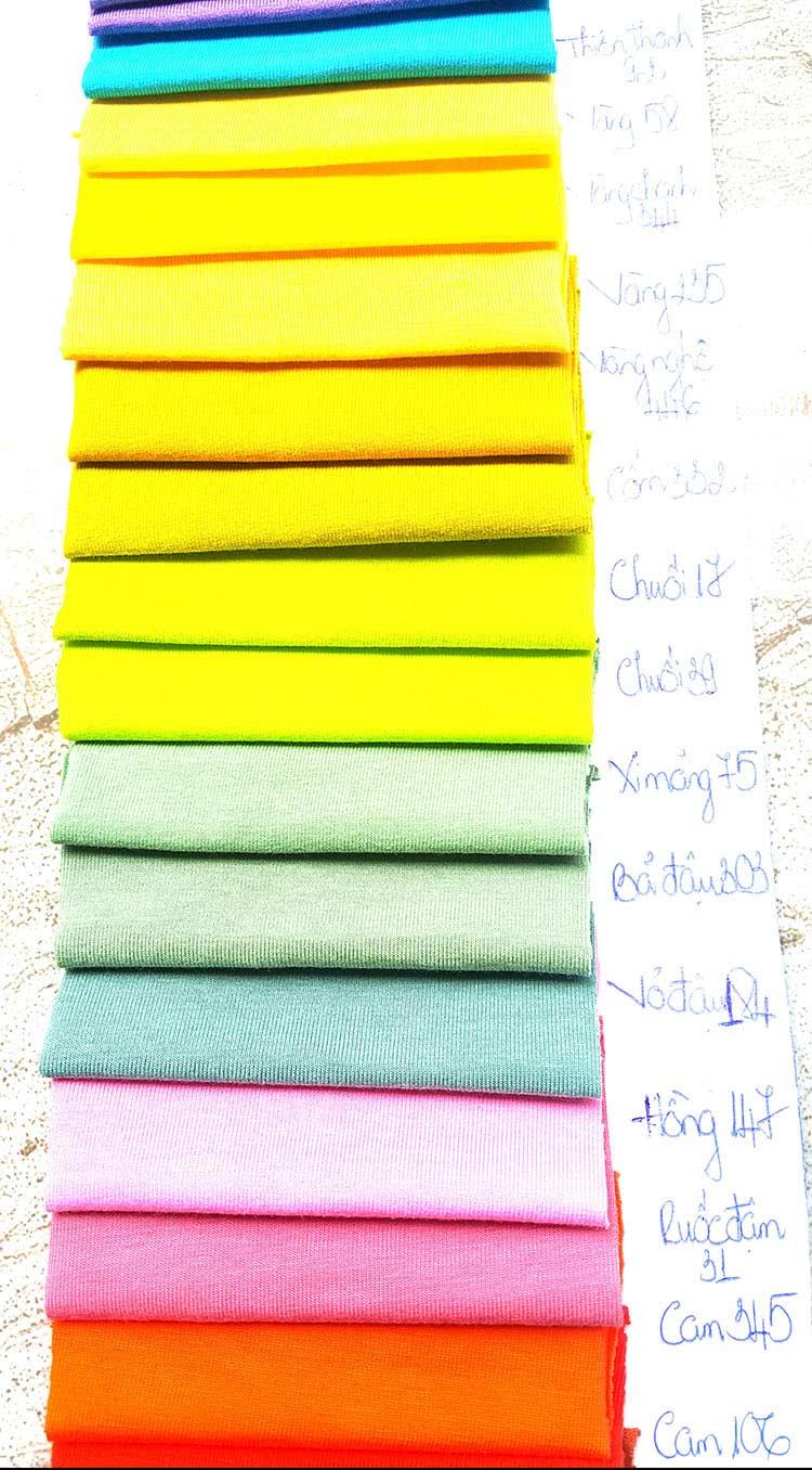 Vải Thun Cotton 100% 4 Chiều